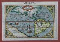 America: Ortelius; M. Coignet