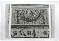 Dimostrazione in grande di alcune parti del Pronao, o Portico del Panteon.: F. Piranesi