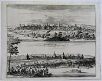 Soratof ville de la Tartarie Moscovite /: Adam Olearius; Vander