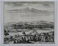 Terki ville de la Circassie, dans L'Asie: Adam Olearius; Vander