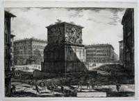 Veduta del Piedestallo dell' Apoteosi di Antonino Pio. . .: Piranesi