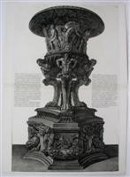 Veduta in Prospettiva per angolo di un ant. Vaso di Marmo (59): G.B. Piranesi