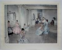 Spanish Dancers: Sir William Russell Flint