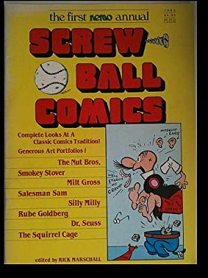 The First Nemo Annual: Screw Ball Comics: Marschall, Rick (editor)