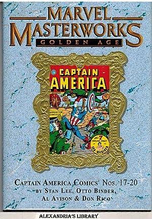 Marvel Masterworks: Golden Age Captain America #5 (161) 17-20: Stan Lee; Otto Binder; Al Avison & ...