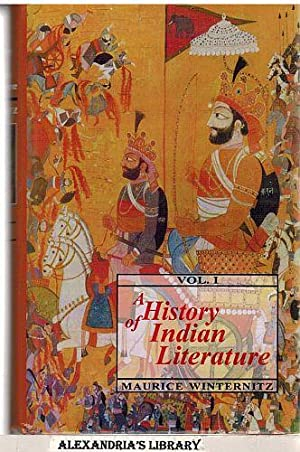 A History of Indian Literature (Vol 1): Maurice Winternitz