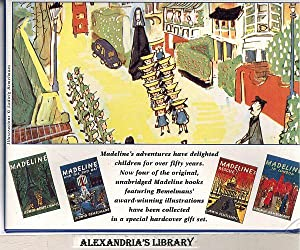 Madeline's Book Collection (Madeline; Madeline's Rescue; Madeline: Ludwig Bemelmans