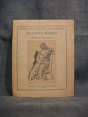 Programme Ballets Russes de Serge de Diaghilew: N/A