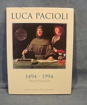 Luca Pacioli, summa de arithmetica, geometrica, proportioni et proportionalita 1494 - 1994: ...