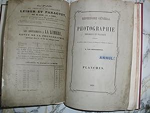 Répertoire Général de Photographie pratique et théoriquecontenant: MONCKHOVEN, D. Van