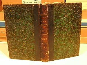 Leçons de Chimie, professées en 1864 et: BERTHELOT, DE LUYNES,