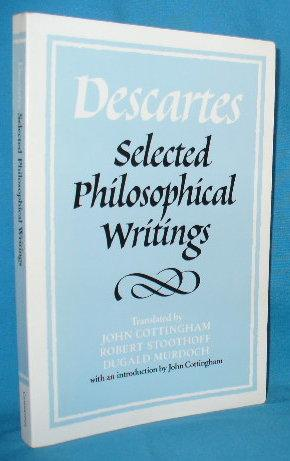 the philosophical writings of descartes pdf