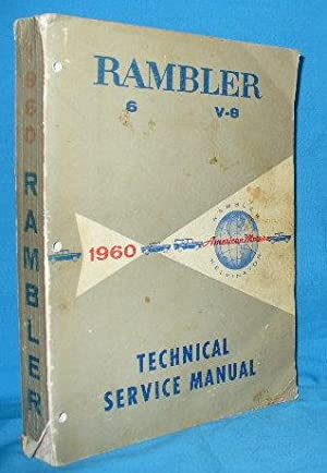 Technical Service Manual: Rambler 6 v8
