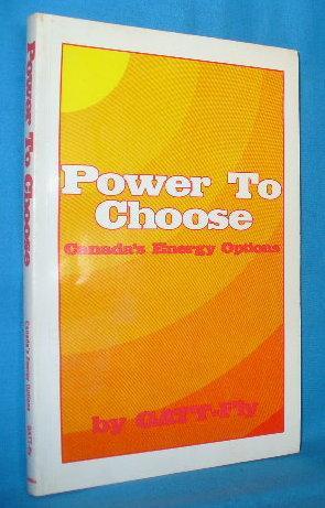 Power to Choose: Canada's Energy Options: GATT-fly