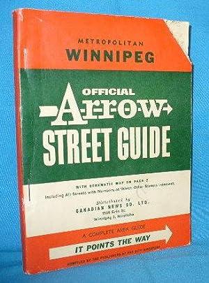 Official Arrow Street Guide, Metropolitan Winnipeg