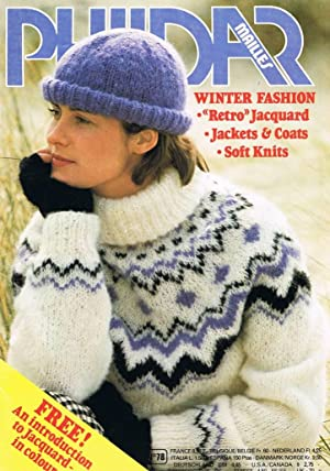Phildar Mailles Knitting Pattern Booklet 78: Winter: Phildar