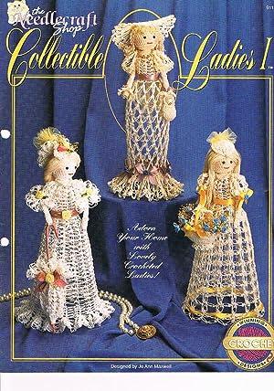 The Needlecraft Shop Crochet Pattern: Collectible Ladies: Maxwell, Jo Ann
