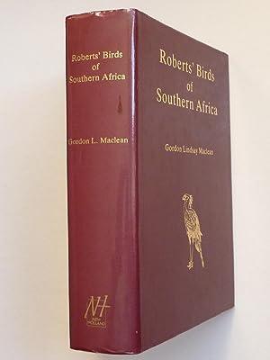 Robert's Birds of South Africa: MacLean, Gordon Lindsay