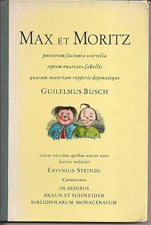 Max et Moritz puerorum facinora scurrilia septem: Guilelmus, Busch: