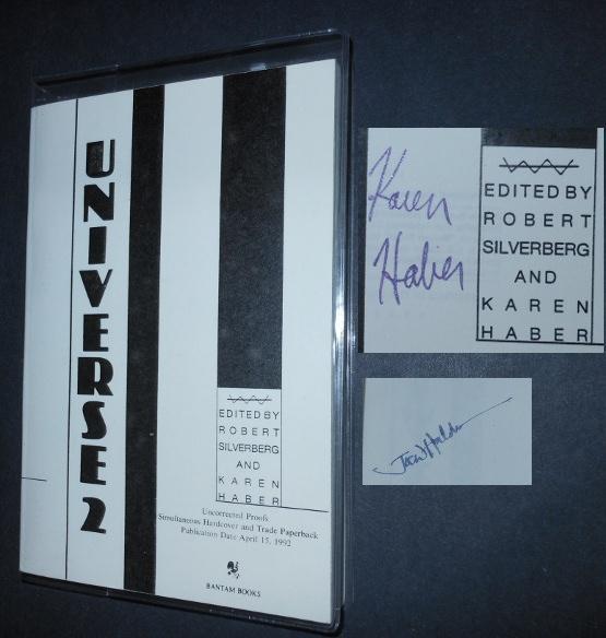 Universe 2 [Signed 2X]: Silverberg, Robert [Editor];Haber, Karen [Editor]; Aldiss, Brian W.; ...