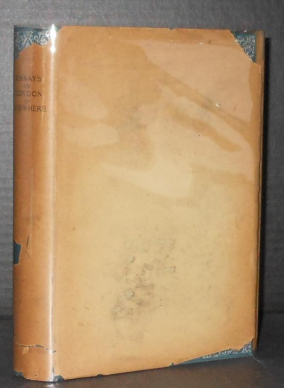 Essays in London and Elsewhere [In the Rare Dust Jacket -- the second earliest known Henry James ...