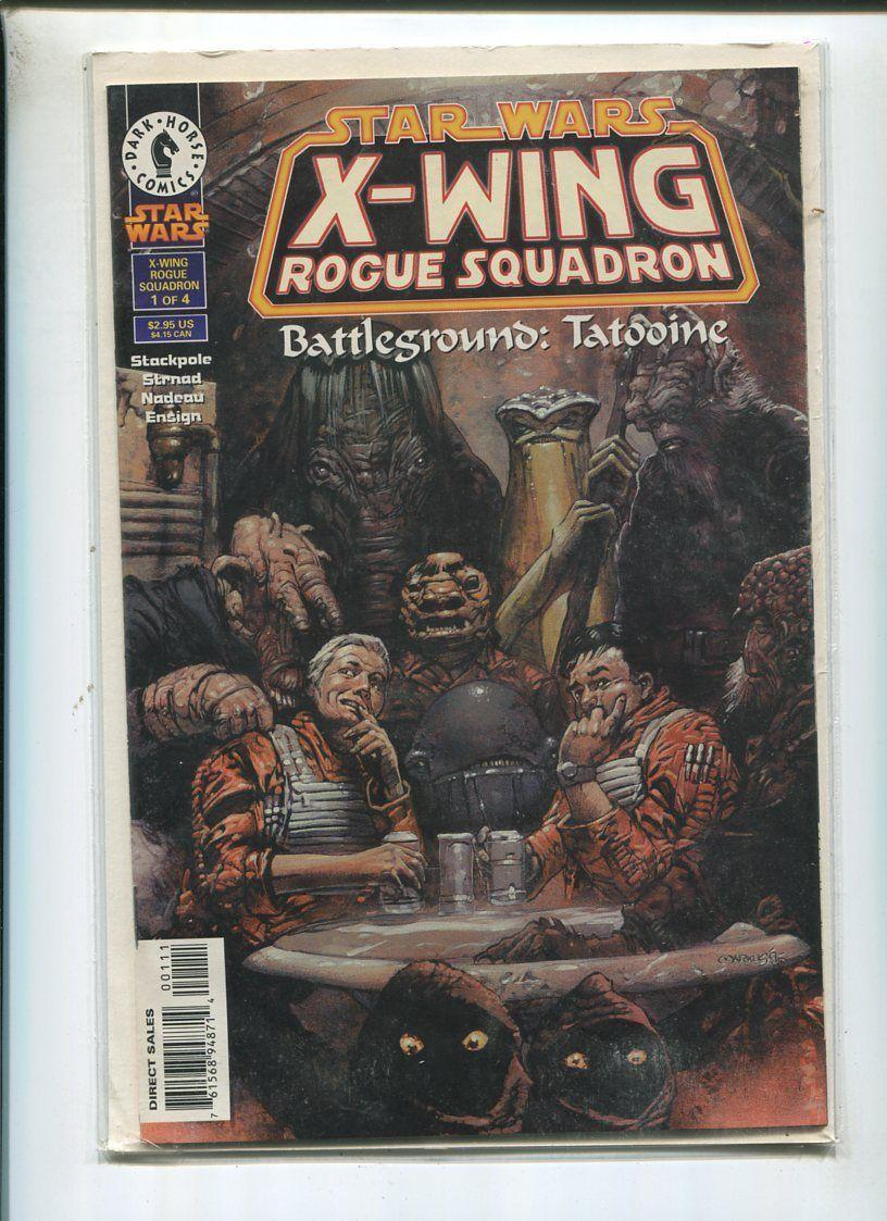 Star Wars #1 of 4 X-Wing Rogue Squadron