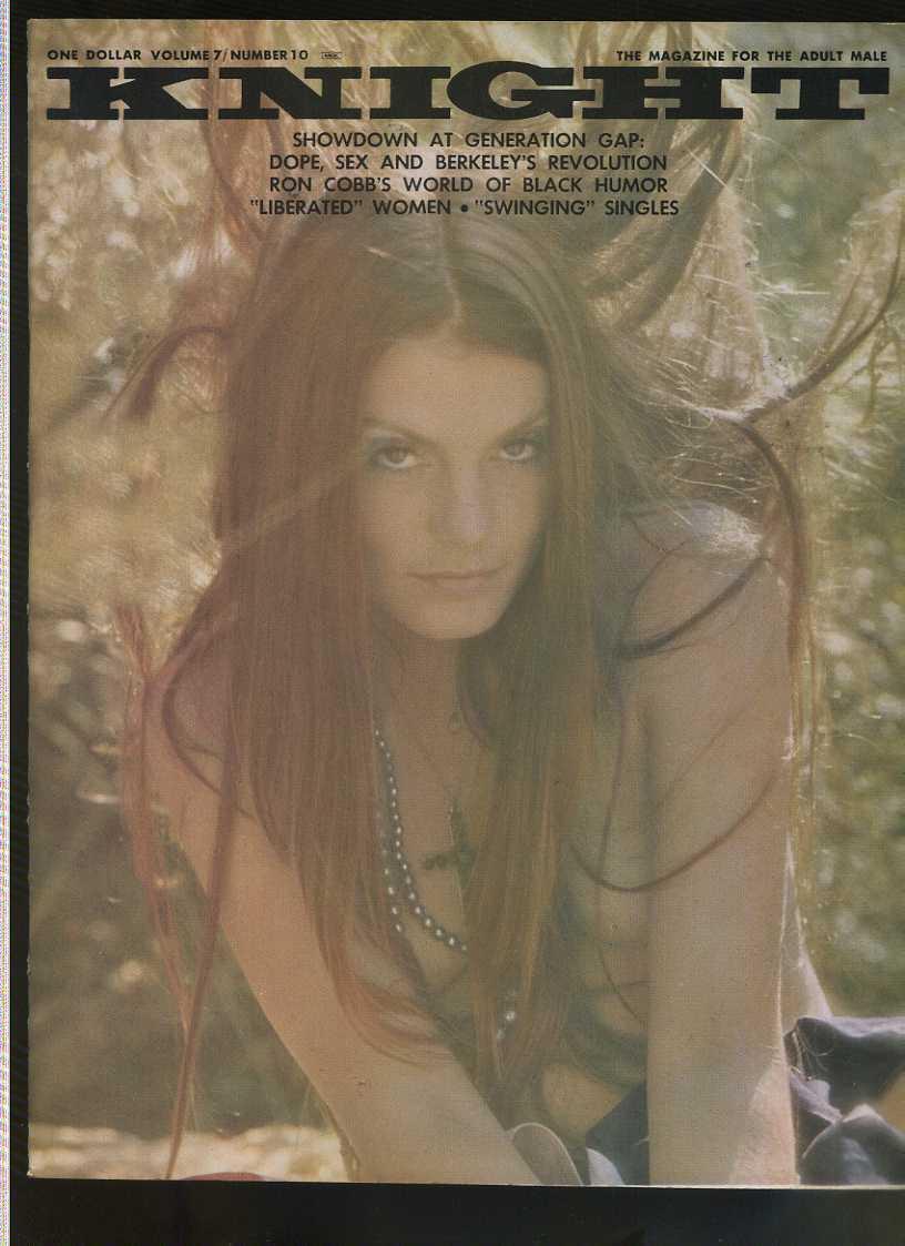 KNIGHT Vol 7 #10 Linda Varro Ron Cobb Andre De Dienes vintage nudie Comic Book Softcover