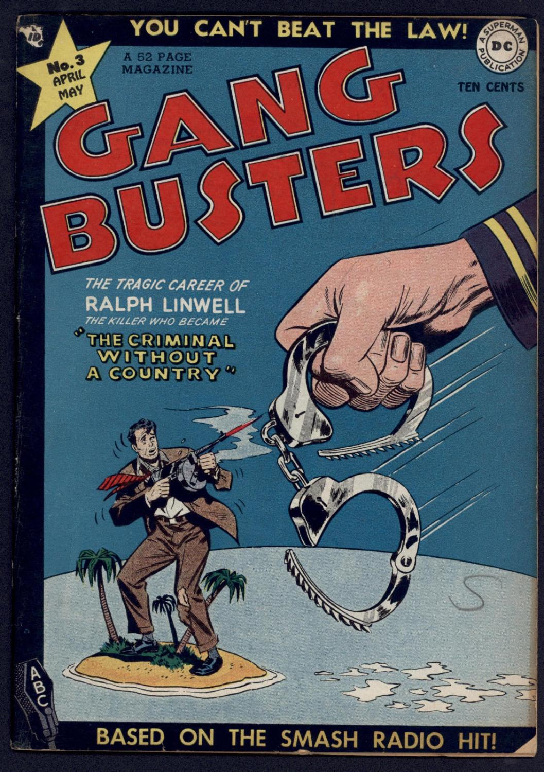 Gang Busters #3 Very Good Pre-Code Crime