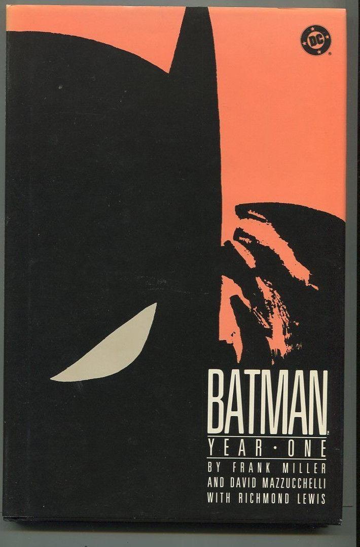 Batman Year One 1st Print Hard Cover DC Comics GBX Comic Book Softcover