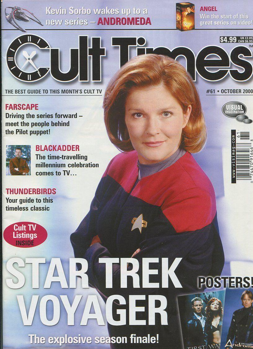 Cult Times  Star Trek Voyager Thunderbirds Blackadder Angel Mbx35 Comic Book