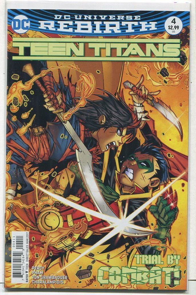 Teen titans dc comic happens. Let's