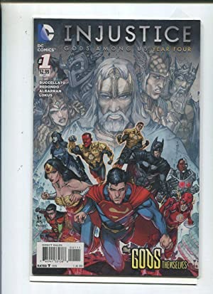 Injustice #1 The Gods Themselves Near Mint