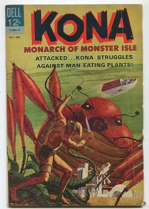 Kona #12 VG- 1964 Monarch Of Monster