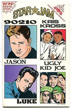 Star Jam Comics 6 NM 90210 Kriss