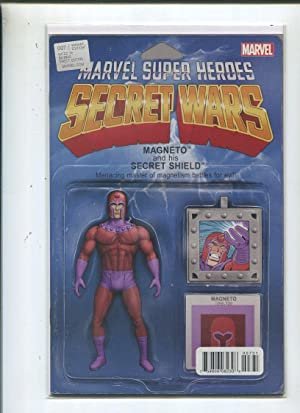 Secret Wars #7 Near Mint Variant Edition Magneto Marvel Comics CBX1G Comic Book