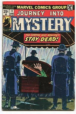 Journey into Mystery 11 VG (1972) Marvel