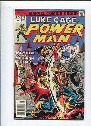 Luke Cage Power Man 39 VF- Hero