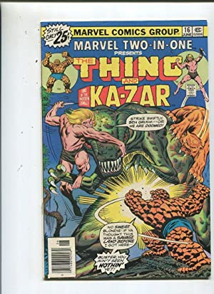 Marvel Two-In-One #16 Fine 1976 Thing And