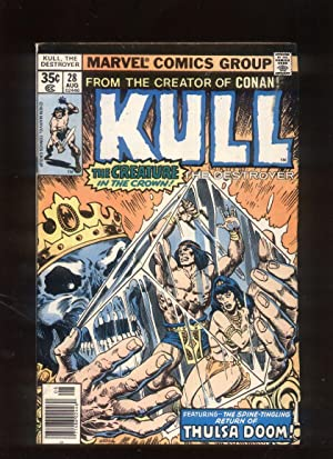 Kull the Conqueror 28 FN/VF Thulsa Doom