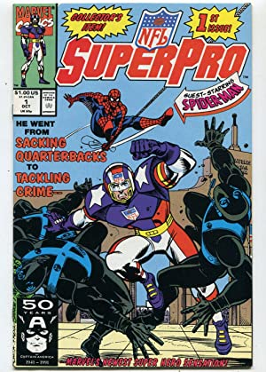 Super Pro #1 NM Collector's Item 1st Issue Spider-Man Marvel Comics CBX2A Comic Book