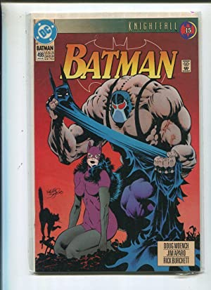 Batman #498 Near Mint Knightfall Part 15 DC Comics CBX33 Comic Book