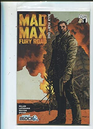 Mad Max #1 Near Mint Fury Road Nerd Block Variant CBX16A Comic Book