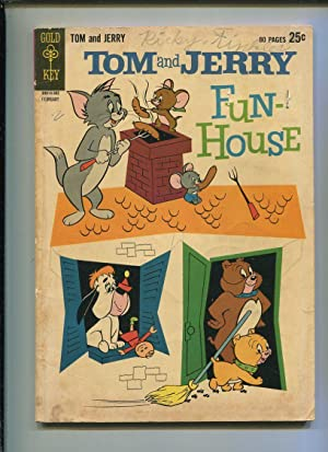 Tom And Jerry Fun House #214 Good reader Comics CBX1O Comic Book