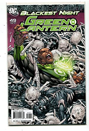 1ST PRINTING BAGGED /& BOARDED DC 2010 GREEN LANTERN CORPS #45 BLACKEST NIGHT