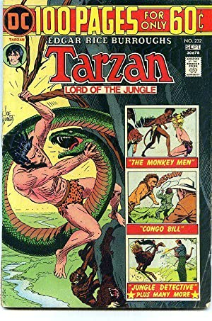 Tarzan 232 VG+ 100 pages DC Comics