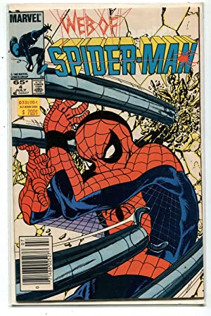 Web Of Spider-Man #4 NM Arms And