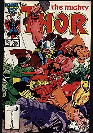 Mighty Thor #367 Walt Simonson Art Fine