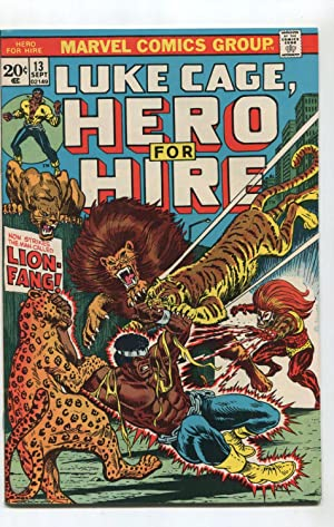 Luke Cage,Hero for Hire # 13 VF