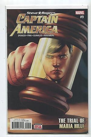 Captain America #9 NM Steve Rogers The