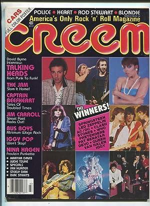 Creem March 1981 Led Zeppelin AC/DC Clash